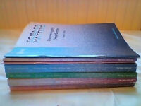 7 Open University Science course books 2nd level course 1995 Science Matters very good condition