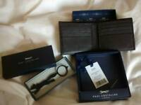 Designer wallet and key ring