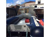 Honda Aluminium deck Inflateable,