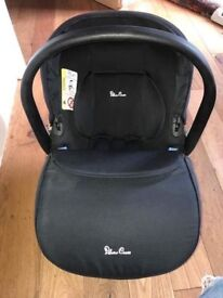 Silvercross car seat and isofix.