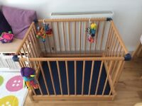 Mothercare Wooden playpen in very good condition