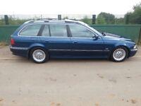 bmw/Bmw E39 530d semi automatic sports touring/estate 2000 reg so the cheaper road tax, Bargain £950