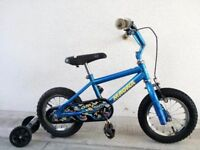 "(2253) 12"" MAGNA Boys Girls Kids Childs Bike Bicycle + STABILISERS; Age: 3-5; Height: 92-107 cm"