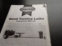 """WOODTURNING LATHE - Basic. """"Faithfull Tools"""" brand. Excellent condition. With instruction book."""