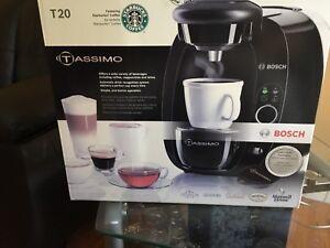 Tassimo single serve coffee maker