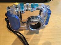 Canon digital IXUS underwater camera case