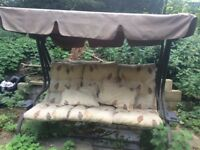 Garden Swing Seat with Canopy