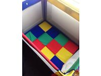 play pen QUICK SALE