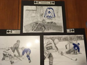 NHL collector Metal signs