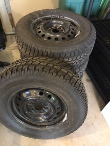 """16"""" Winter tires - only used one winter!"""