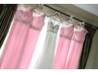Stunning Phil Collins bridesmaid dresses for sale at £125 o.n.o. Dress sizes: 12, 12, 10.