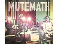 MUTEMATH @02 Islington, London , 23rd AUGUST 2017 - Four tickets for sale.