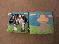 Marwell children's animal cushions