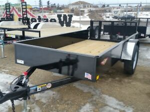 H&H 5X10  SOLID SIDED UTILITY TRAILER REG PRICE 2295.00
