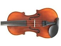 fritz kreisler violin made by gainesville violins... included nice bow case and more..