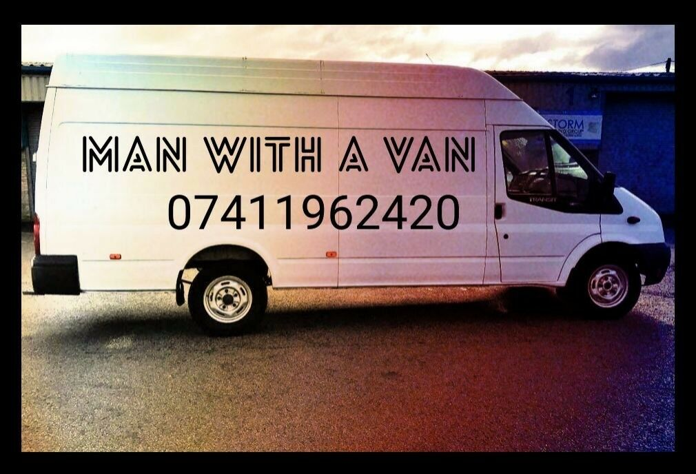 96c1551f70 MAN WITH VAN REMOVALS DELIVERIES HOUSE   HOME MOVES FURNITURE 07411962420