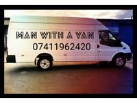 MAN WITH VAN REMOVALS/DELIVERIES
