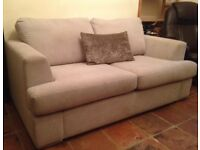 Luxury Belgian Hand Manufactured Sofa Bed In Excellent Condition