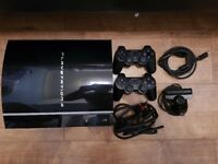 PS3 500gb Console & Games