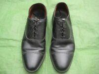 Pair of Allen Edmonds Black All Leather Lace-Up Shoes - Size 12