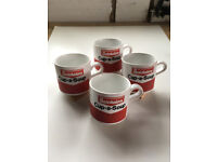 Vintage Batchelors Cup-a-soup mugs.