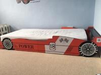 Child's Single bed. And mattress