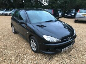 2005 Peugeot 206 1.4 5 Door 4 Months MOT 2 Prev Owners Part Service History Cheap Car