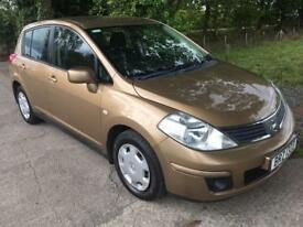 NISSAN TIIDA 1.6 IMPORT 5d 109 BHP (brown) 2010