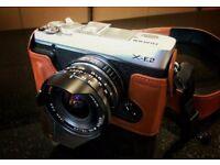 Fujifilm X-E2 Camera with Voigtlander 15mm MKII