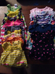 Huge lot of baby girl clothes, 0 - 6 months
