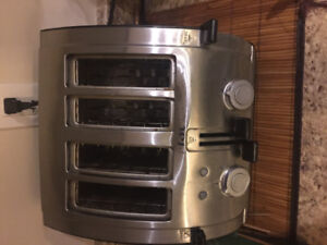 Tefal toaster 4peices slice
