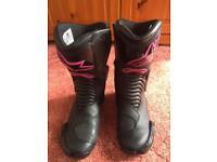 Alpine stars lady's boots