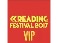 Reading Festival VIP Guest Tickets Full Weekend Camping