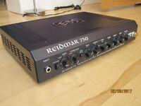 EBS Reidmar 750 bass amp.