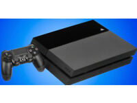 SONY PLAYSTATION 4 500GB + 2 GAMES 8 MONTHS WARRANTY REMAINS