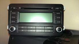 Volkswagen, Seat and Skoda RCD 300 head unit/radio/audio/stereo