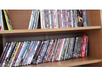 74 DVDs joblot car boot sale
