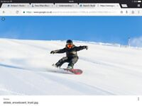 A 90-minute skiing or snowboarding lesson for two people