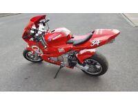 MIDI-MOTO 50cc 4 Stroke,Suzuki Replica.