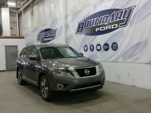 2014 Nissan Pathfinder Platinum W/ Rear DVD, Dual Sunroofs