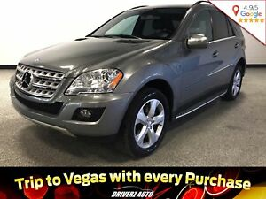 2010 Mercedes-Benz M-Class BLUETEC, POWER LIFTGATE, NAVIGATION