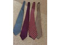 Selection of men's ties £2.00 each