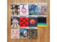 Wallpaper* Magazine April 2012 - March 2013 11 x Issues *New*