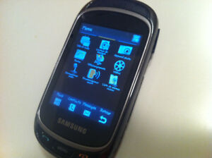 Cell phone Samsung Gravity Touch