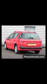 Peugeot 207 1.4 Estate 2013 5 door