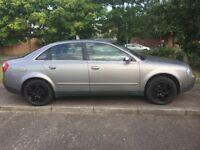 2002 Audi A4 1.9 tdi 130bhp diesel. Manual saloon. 6 months mot. Alloys. Drives well