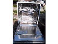 Zanussi ZDI 6041 Stainless Steel Dishwasher Integrated