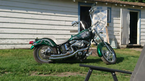 2001 custom indian motorcycle