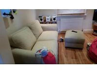 As new Harveys 3 seater sofabed