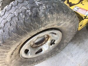 4 tires for free 3 have rims